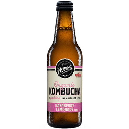 LightDrinks - Remedy Kombucha Raspberry Lemonade - 330ml