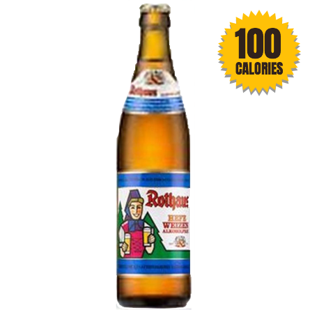 LightDrinks - Rothaus Wheat Beer Hefeweizen 0.4% - 500ml
