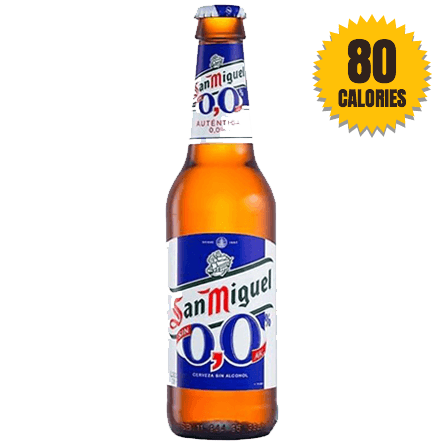 LightDrinks - San Miguel Alcohol Free 0.0% - 330ml