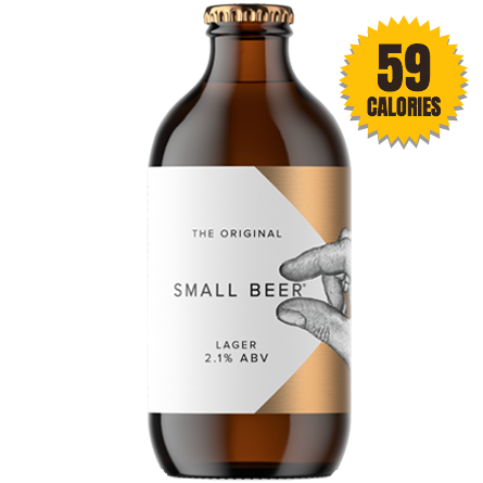 Small Beer Brew Lager 2.1% - 330ml
