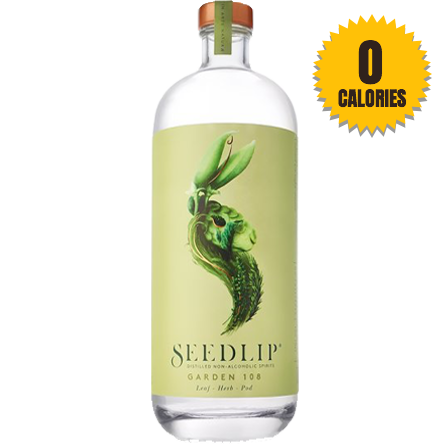 LightDrinks - Seedlip Garden 108 Non Alcoholic Spirit - 700ml