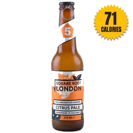 LightDrinks - Square Root London Citrus Pale Shandy 0.5% - 275ml