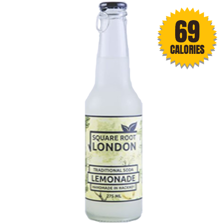 LightDrinks - Square Root London Lemonade Soda - 275ml