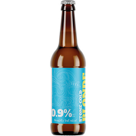 LightDrinks - Stone Cold Brewery Blonde 0.9% - 330ml