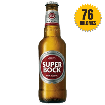 LightDrinks - Super Bock Pilsner 0.5% - 330ml