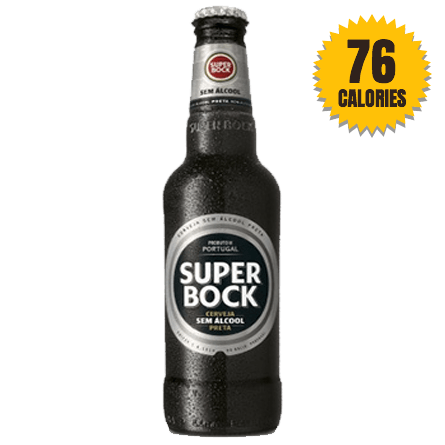 LightDrinks - Super Bock Stout 0.5% - 330ml