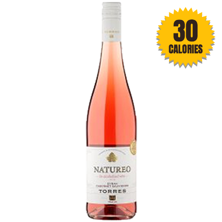 LightDrinks - Torres Natureo Rosé Wine 0.5% - 750ml