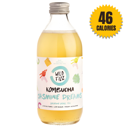LightDrinks - Wild Fizz Kombucha Jasmine Dreams - 330ml