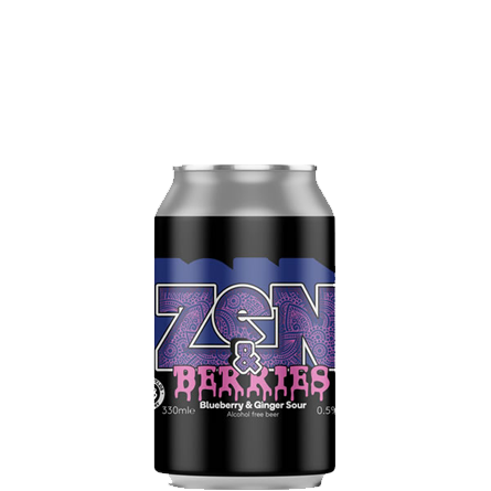 LightDrinks - Nirvana Brewery Zen & Berries Alcohol Free Beer 0.5% - 330ml
