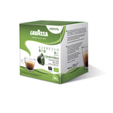 Dolce Gusto Compatible Lavazza Bio Organic UTZ Espresso Coffee Capsules (5 Packs of 16)
