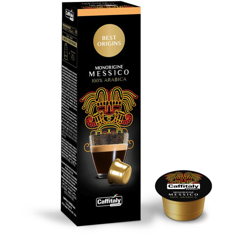 Caffitaly Messico Best Origins Coffee Capsules (10 Packs of 10)