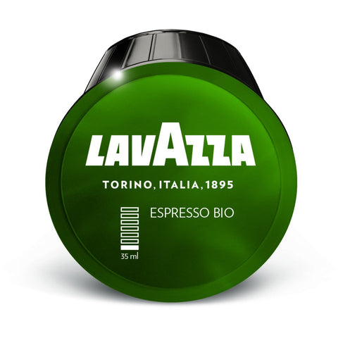 Dolce Gusto Compatible Lavazza Bio Organic UTZ Espresso Coffee Capsules (4 Packs of 16)