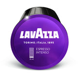 Dolce Gusto Compatible Lavazza Intenso Espresso Coffee Capsules (6 Packs of 16)