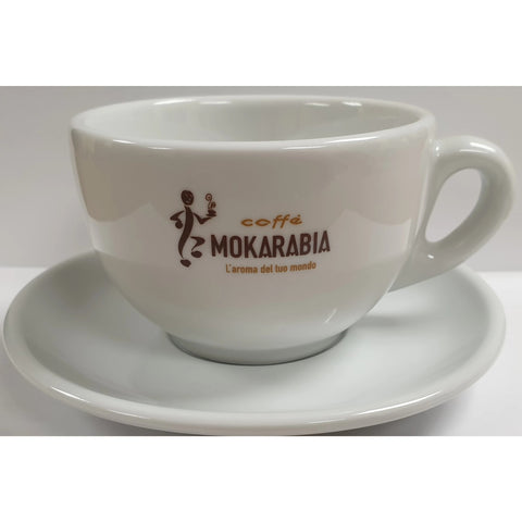 Mokarabia Caffe Latte Porcelain Cup Set 250ml