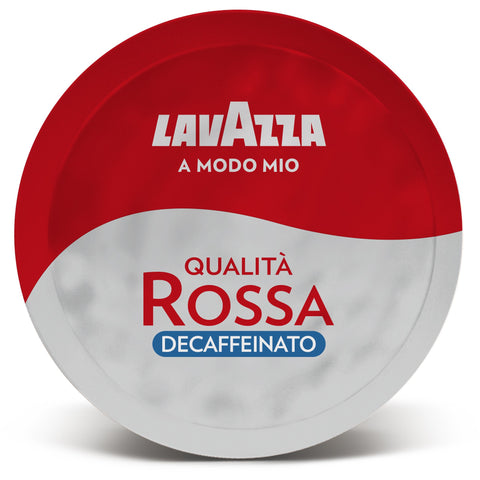 Lavazza A Modo Mio Rossa Decaffeinato Coffee Capsules (3 Packs of 16)