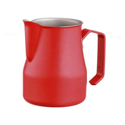 Metallurgica Motta Stainless Steel Teflon Red Milk Jug 750ml