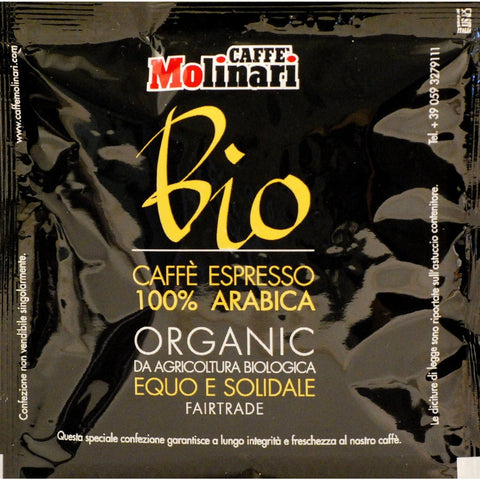 100% Arabica Organic Fairtrade ESE pod 44mm