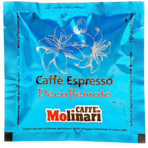 Decaffeinated Espresso ESE pod 44mm