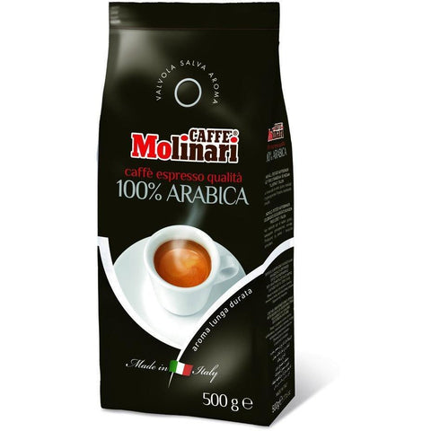 100% Arabica coffee beans 500g