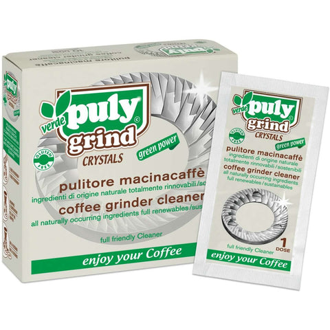 Puly Grind Crystals Coffee Grinder Cleaner (10 Sachets of 15g)