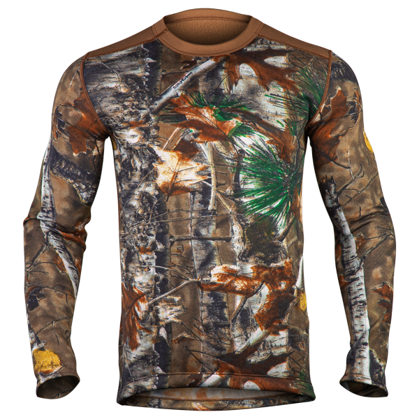 Men's Light-Weight Camo Crew