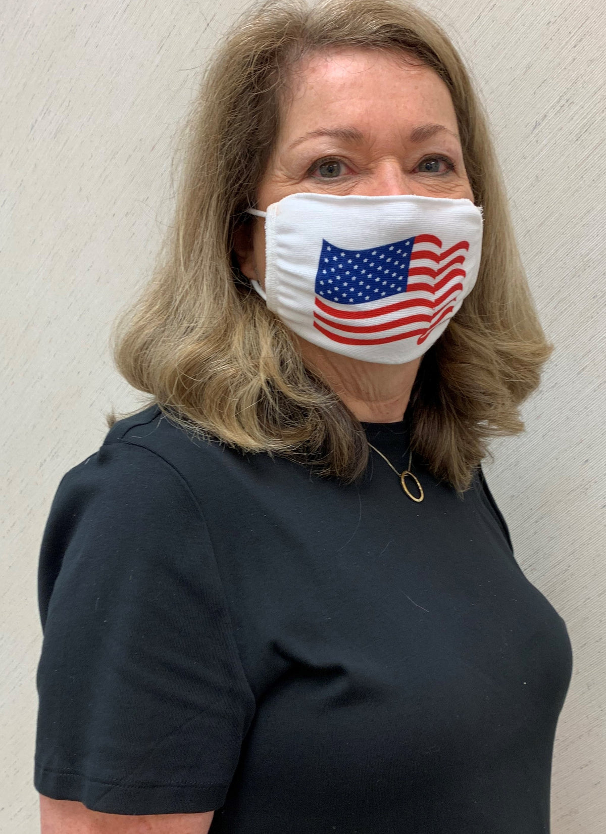 M1776 American Flag - Adult Personal Protection Mask - 12 Pack