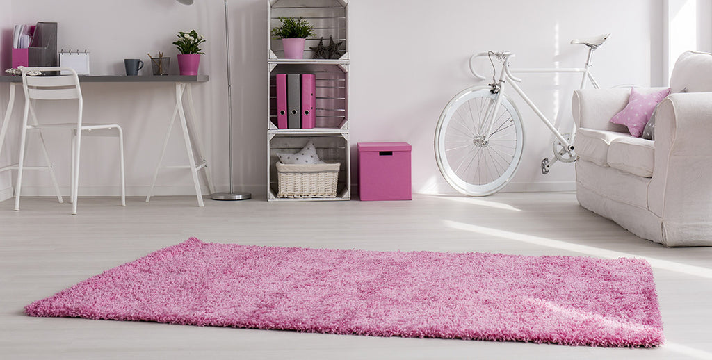 Adgo Chester Collection Pink Area Rug