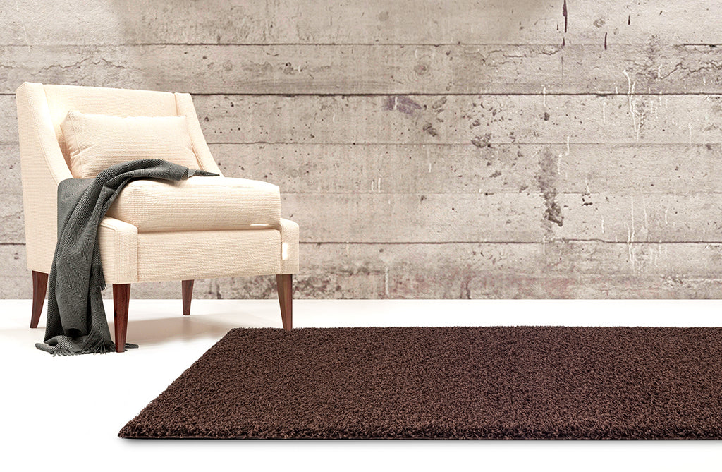 Adgo Chester Collection Chocolate Brown Area Rug