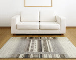 Adgo Milano Collection Frost Gray Area Rug
