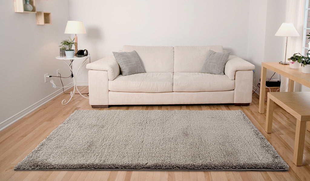 Adgo Vernazza Collection Modern Contemporary Live Mink Design Jute Backed Area Rugs Tall Pile Height Well Spaced Soft and Fluffy Indoor Floor Rug