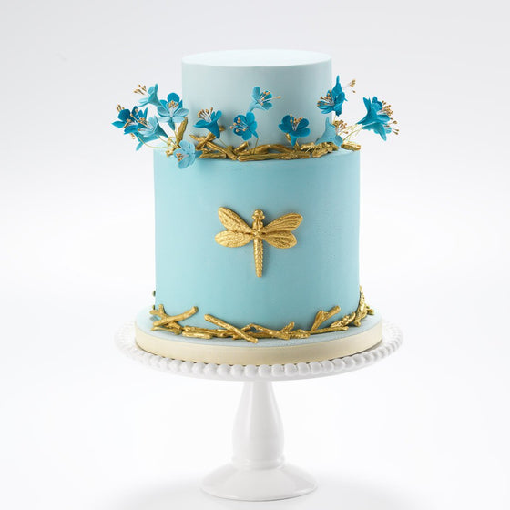 the dragonfly celebration cake