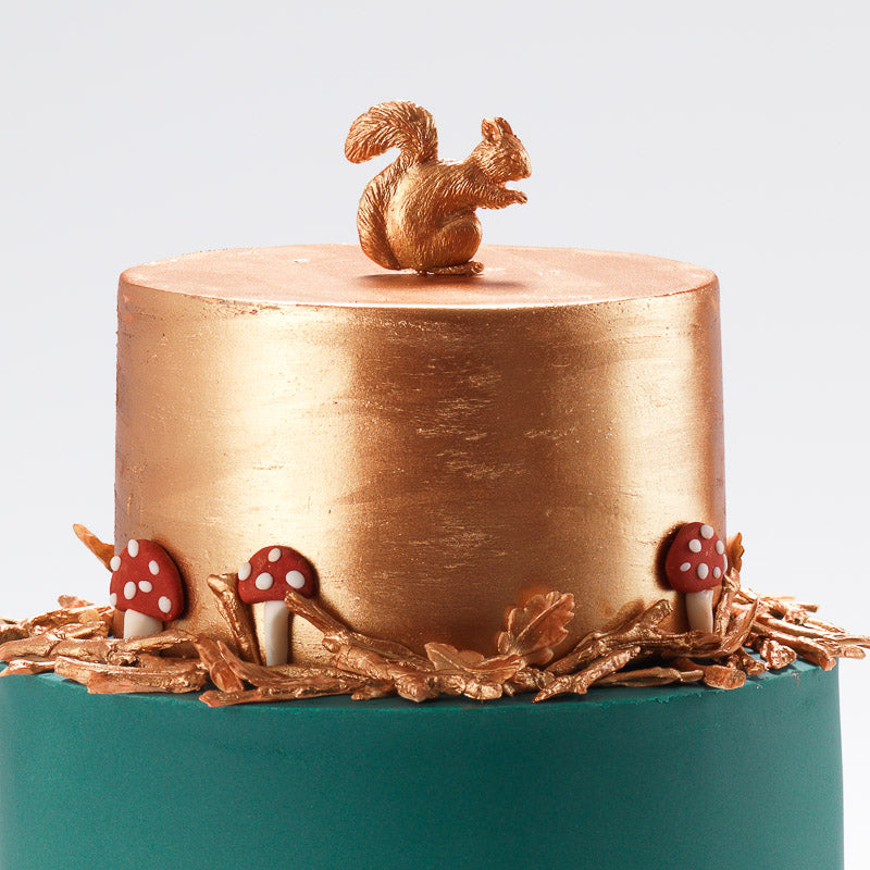 The Hare | Two Tier Fondant Iced Cake