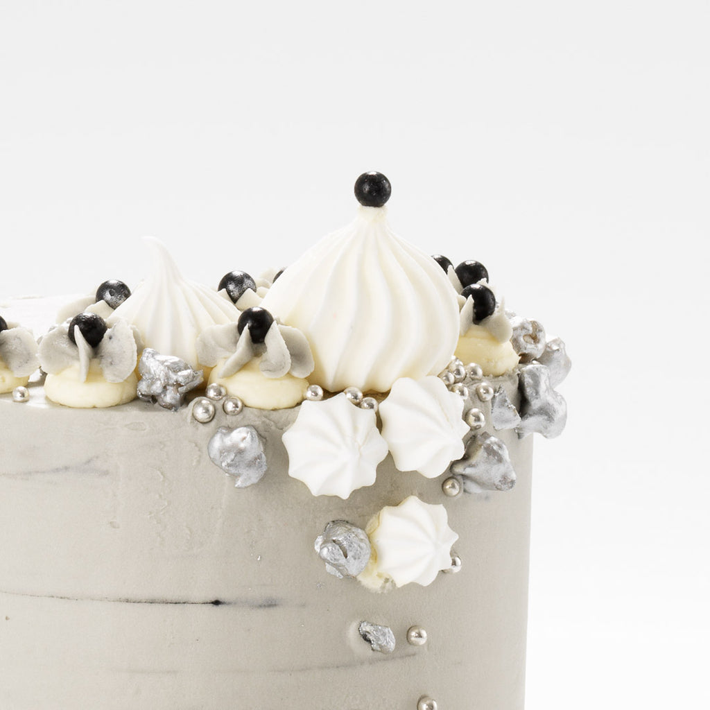 Grey Sky At Night | Buttercream Iced Cake