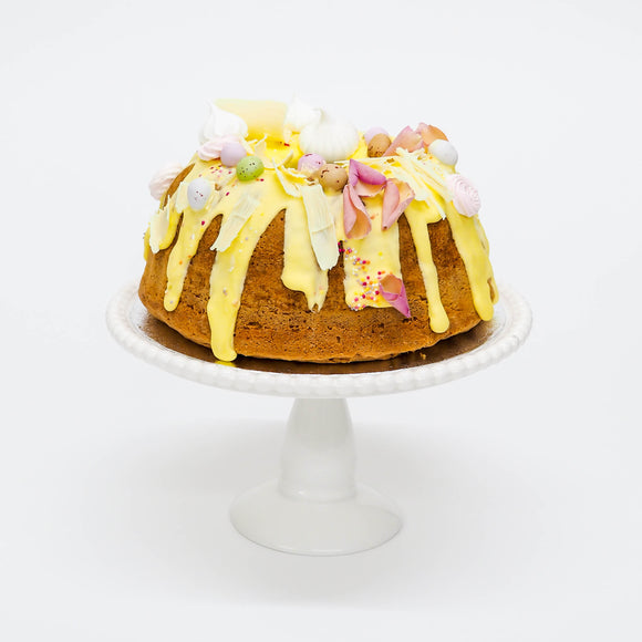Lemon Drizzle Easter Bundt Cake