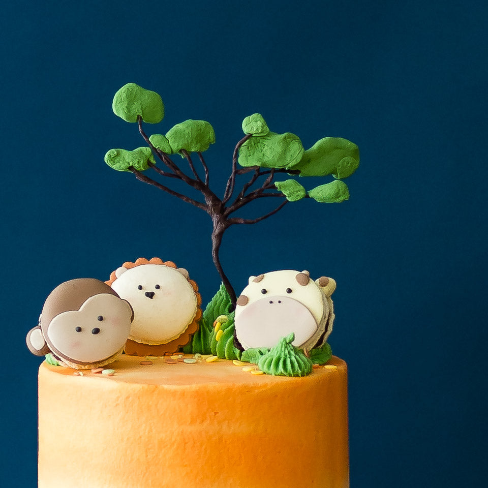 Jungle Safari | Buttercream Iced Cake
