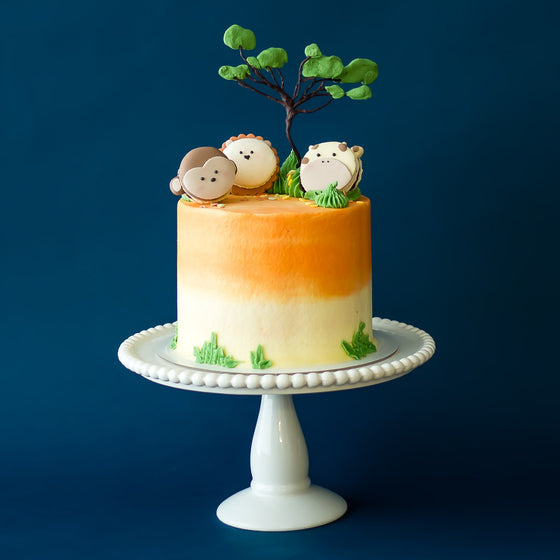 Jungle Safari Buttercream Iced Cake
