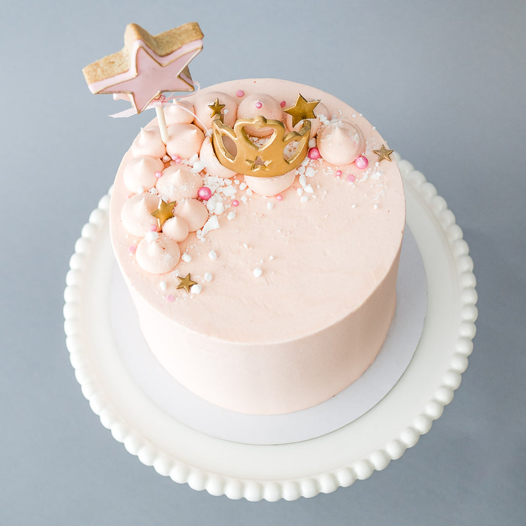 Fairy Princess | Buttercream Iced Cake