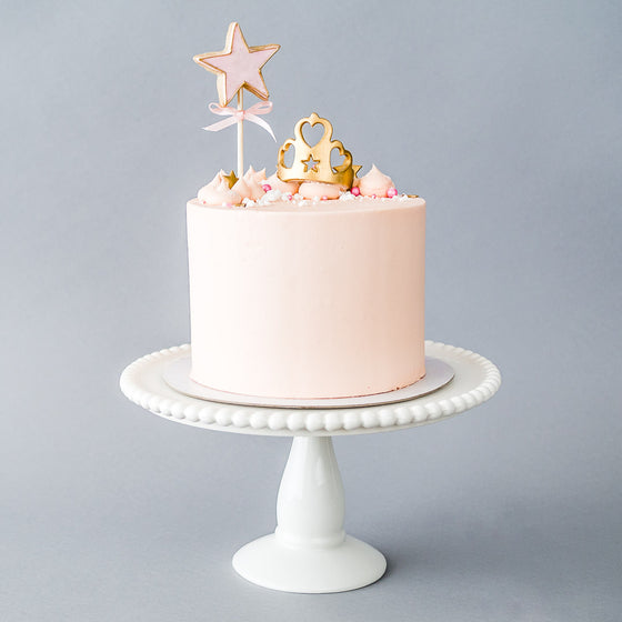 Fairy Princess Buttercream Iced Cake