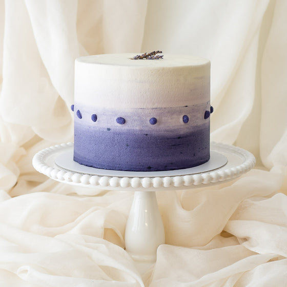 Lavender Fields | Buttercream Iced Cake