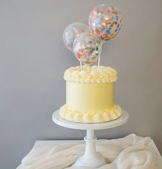 Confetti Balloon Toppers
