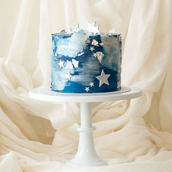 Blue Galaxy | Buttercream Iced Cake