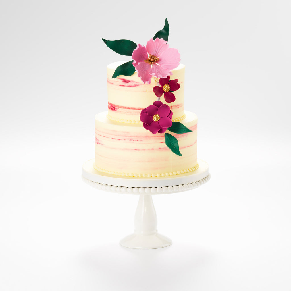 The Secret Garden buttercream iced cake
