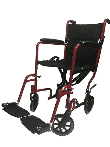 LIGHT WEIGHT STANDARD TRANSPORTER WHEELCHAIR