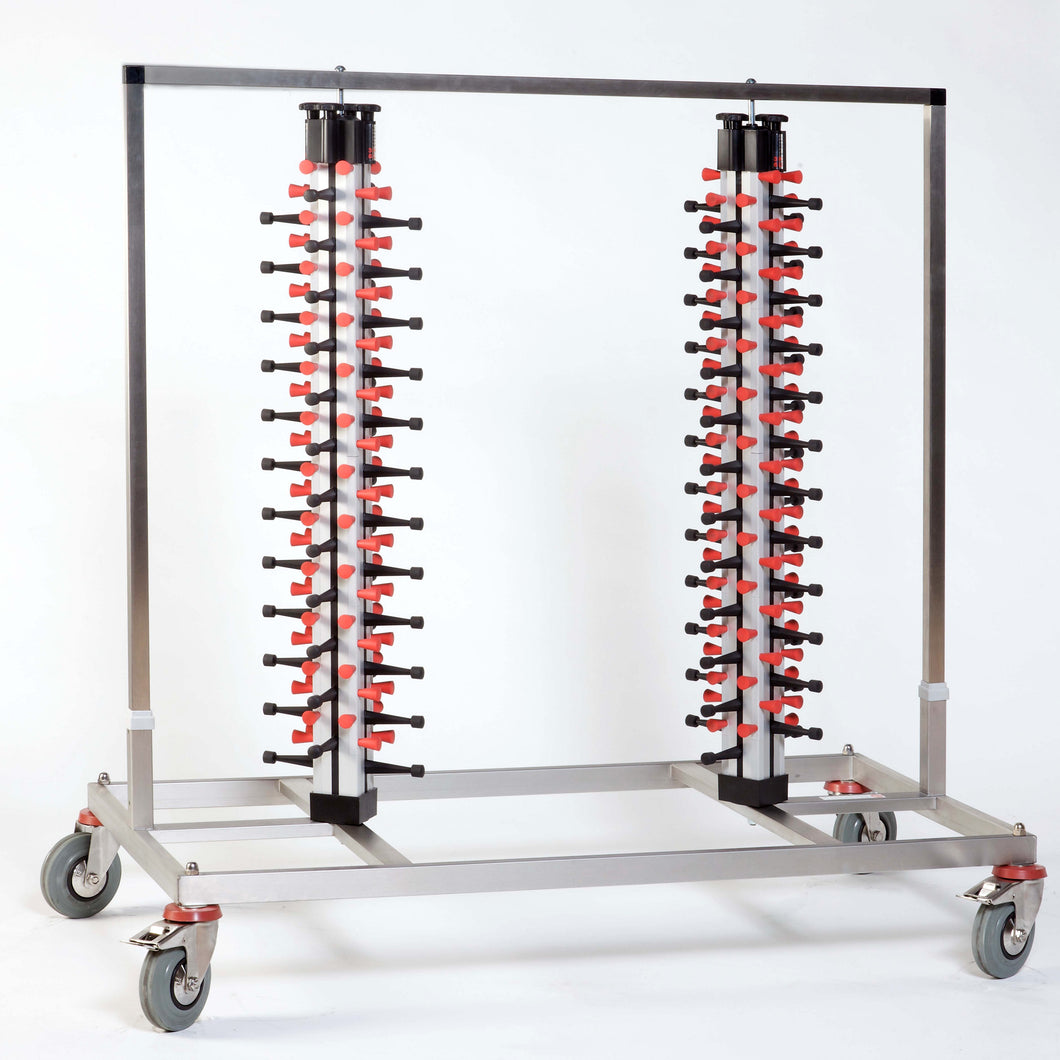 Twin Column Standard Mobile Plate Mate (96 Plates)