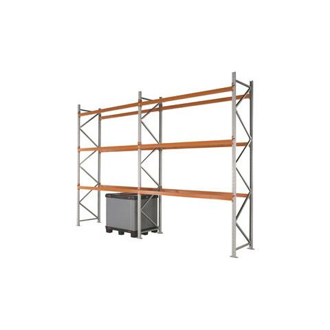 Apex Pallet Racking Starter & Extension Bays 3 Beam Levels