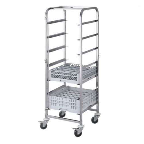7 Level Dishwasher Trolley