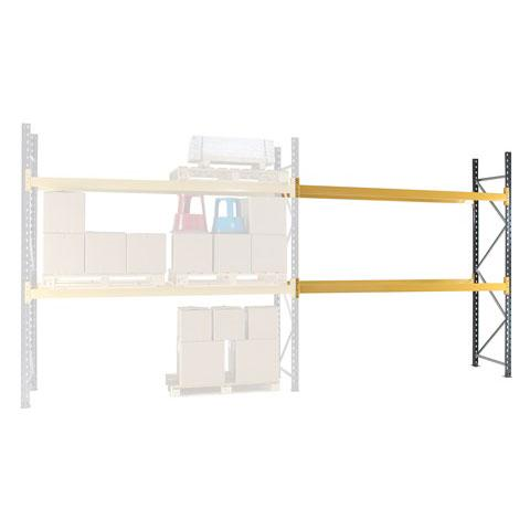 Pallet Racking Extension Bay 2 Beam Levels