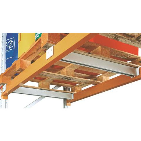 Pallet Racking Pallet Support Bar For 1100Mm Bay Depth