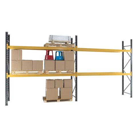 Pallet Racking Starter Bay 4 Beam Levels