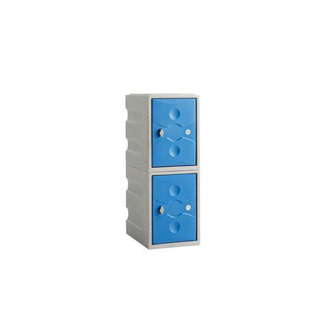 2 Door Mini Plastic Locker